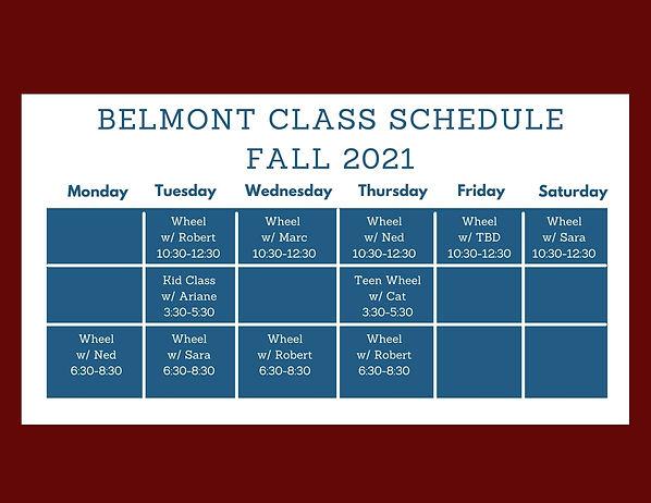 Belmont fall 2021 Class Schedule.jpg