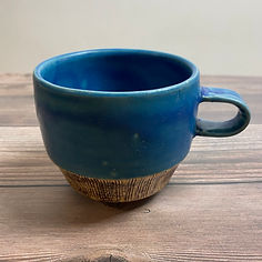 kushisabi coffee mug blue_30.JPG