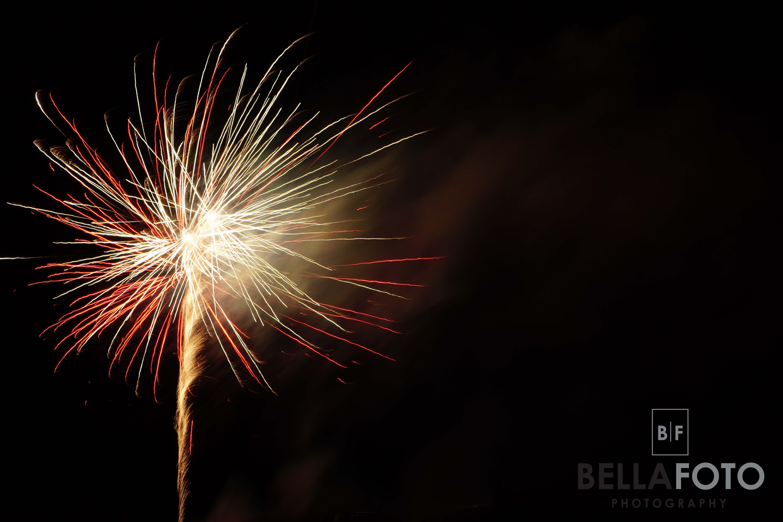 Orillia Canada Day Fireworks 2015