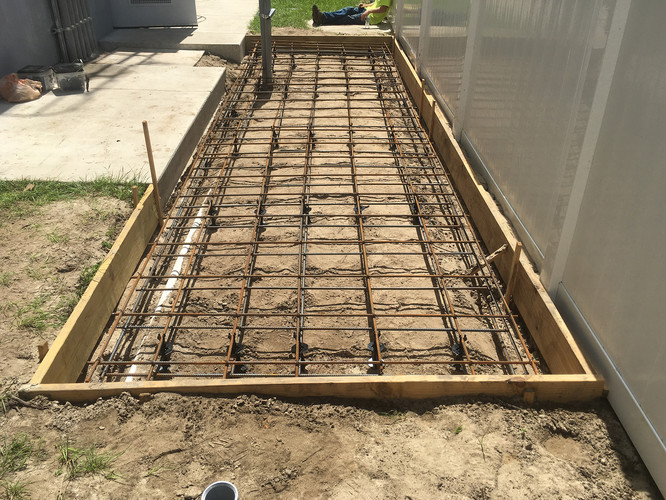 Concrete Slab - Before
