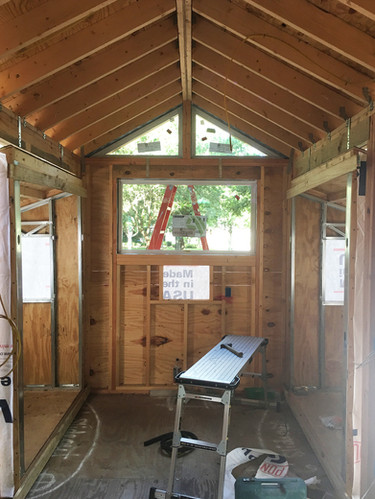 Tiny House New Build - Before