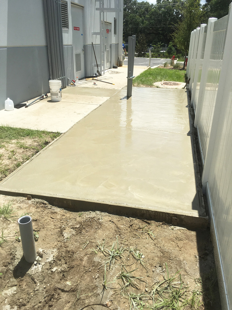 Concrete Slab - After