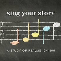 FB Sing your song A study of Psalms 104-