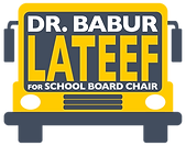 Babur Lateef for Prince William School Board Chair logo