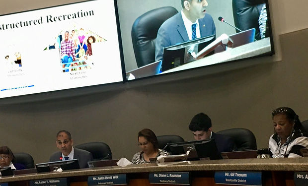 Prince William school board backs armed guards for schools, Babur Lateef for Chair