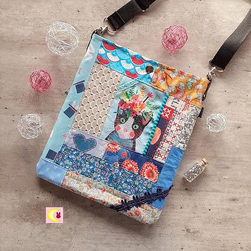 sac chat malo pat'chat patch'cat patchwork tissus japon japonais fait main