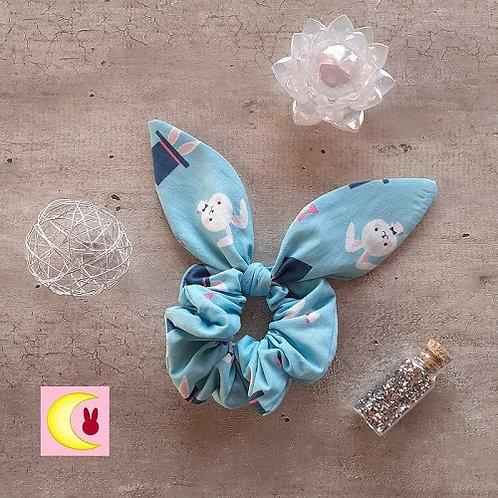 Chouchou Little Tuxdeo Scrunchie Bunny inspiration Sailor Moon