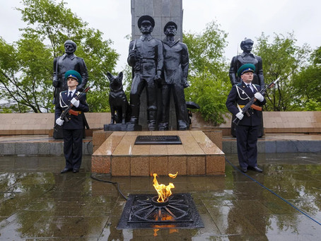 Памятник пограничникам во Владивостоке