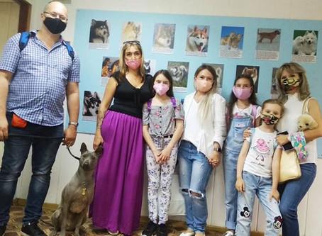 Грета в Музее Собаки