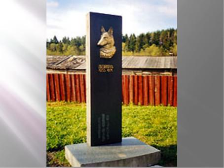 Памятник собаке Дойре в г. Сортавала