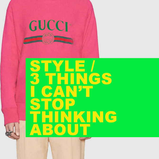 STYLE / The Gucci Stuff is Crazy... But I Love It.