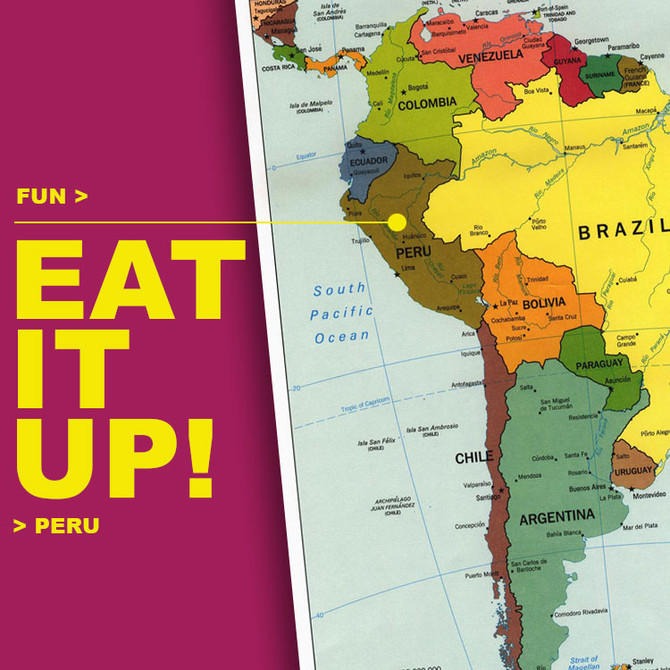 FUN / EAT IT UP! PERU (in BK)