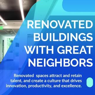 Renovated Buildings