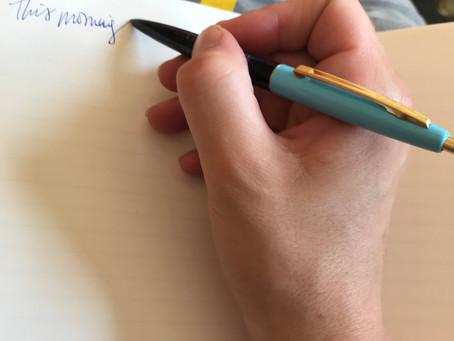 Writing Through the Hard Stuff