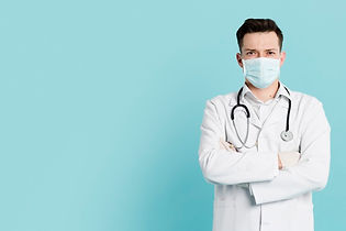 front-view-doctor-with-medical-mask-posi