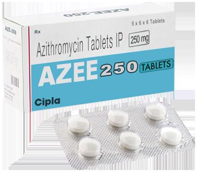 Azee 250mg Tablet (Azithromycin)