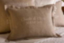 Buy bespoke handmade linen cushions