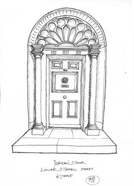Georgian Door Lower O Connell St Kinsale