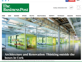 Architecture and Renovation: Thinking outside the boxes in Cork - The Sunday Business Post
