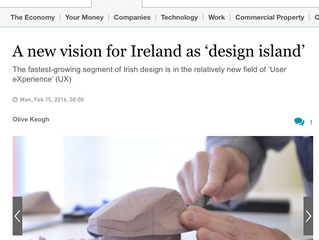 Irish Times Innovation Interview with Marc O'Riain