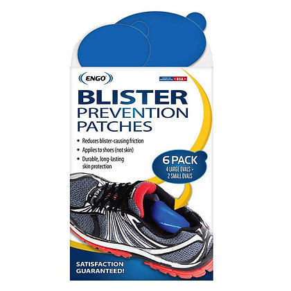 ENGO Blister Prevention Patches - 6 pack