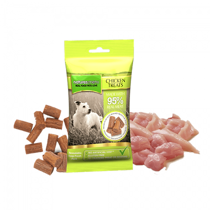 Real Meaty Dog Treats with Chicken