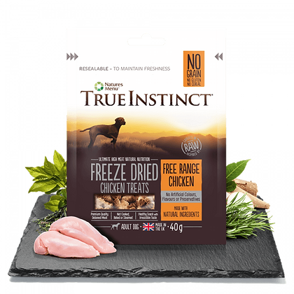 Freeze Dried Dog Treats Free Range Chicken