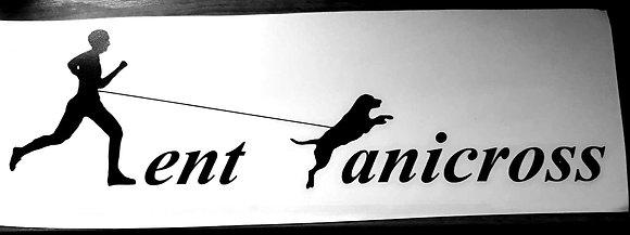 Kent Canicross Car Sticker
