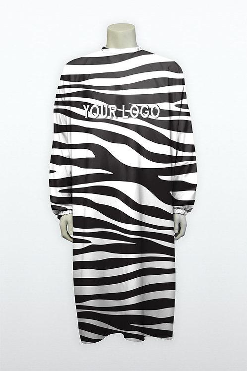 Blouse unconventional zebre