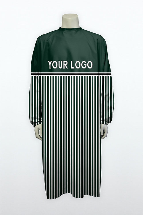 Blouse Barber midle line green