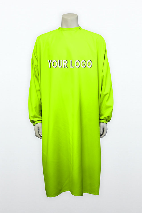Blouse unconventional fluo yellow green
