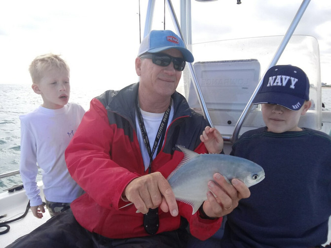 Kids First Real Fishing Trip.