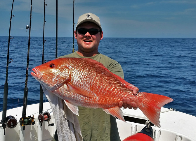 Red Snapper Offshore with Fred