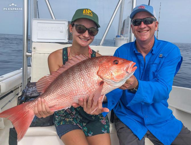 Yea, She Can Fish!