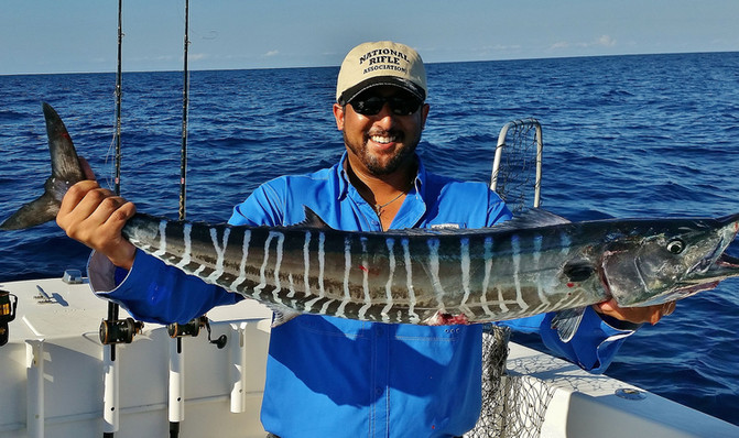 Sweet Day Offshore; Wahoo!