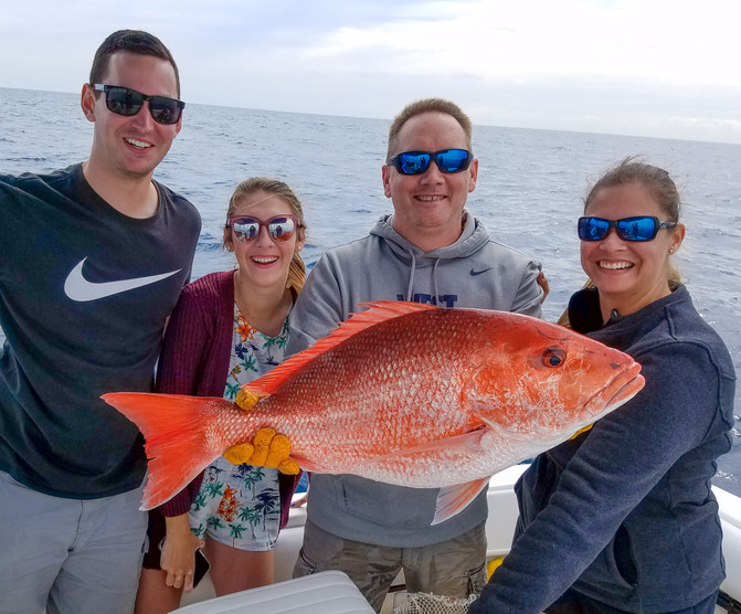Free-lining for Red Snapper