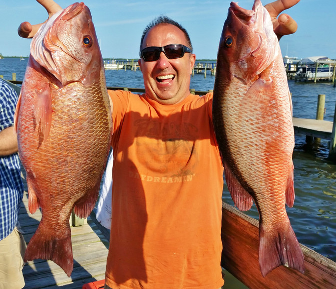 Offshore Snapper Trip