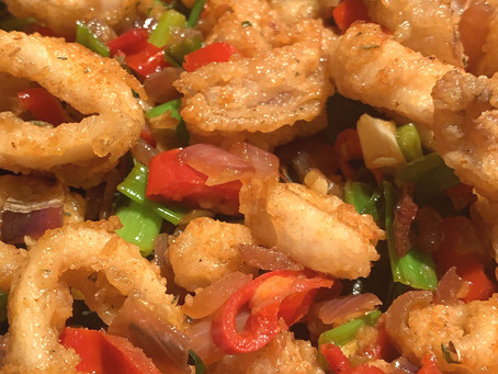 SALT AND CHILLI SQUID