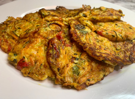 Spicy Vegetable Fritters