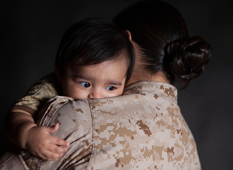 Military Moms and Post-Partum Depression by Jessica Roza