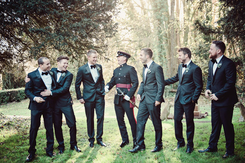winter wedding in the english countryside by uk wedding  Claire Barrett 15