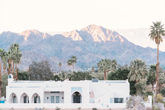 WEDDING AT FOOTHILLS OF SANTA ROSA MOUNTAINS LA QUINTA CA BY LOS ANGELES WEDDING PHOTOGRAPHER CLAIRE BARRETT