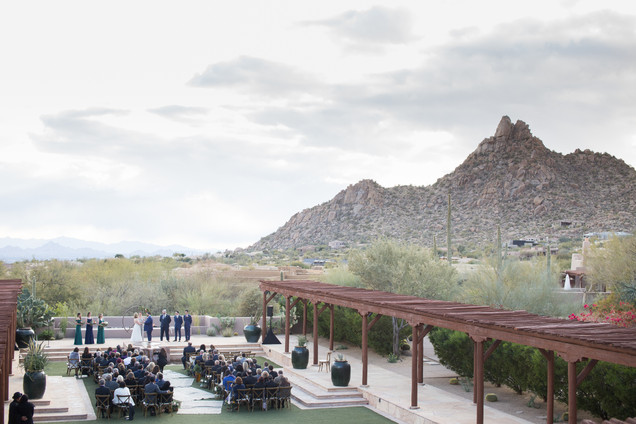 wedding ceremony  Scottsdale Arizona