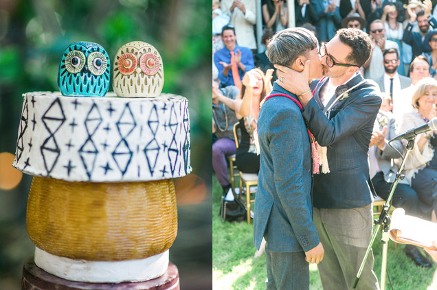 Gay Wedding in Ojai California 37