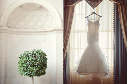 winter wedding at the millenium biltmore hotel los angeles by los angeles wedding photographer 2