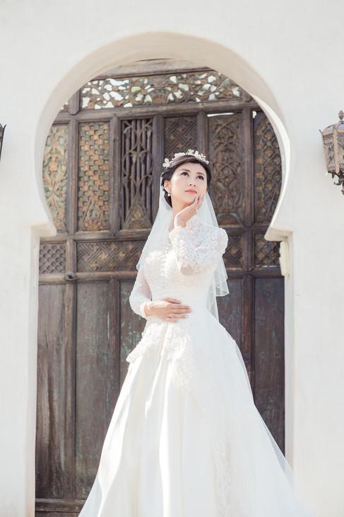 WEDDING AT FOOTHILLS OF SANTA ROSA MOUNTAINS LA QUINTA CA BY LOS ANGELES WEDDING PHOTOGRAPHER CLAIRE BARRETT 34
