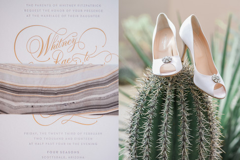 Wedding Invitation and Wedding Shoes