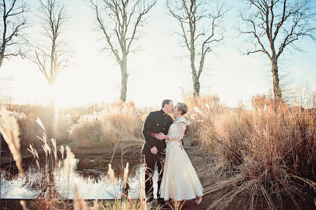 winter wedding in the english countryside by uk wedding  Claire Barrett 31
