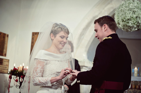 winter wedding in the english countryside by uk wedding  Claire Barrett 23