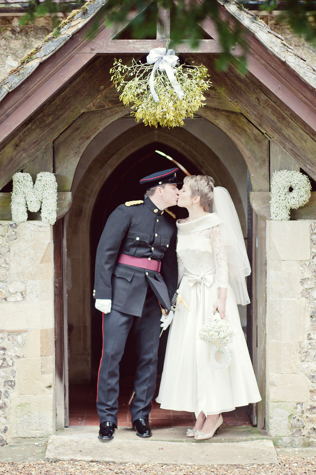 winter wedding in the english countryside by uk wedding  Claire Barrett 24